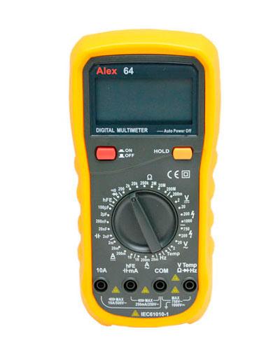 Цифровой мультиметр ALEX- MY64
