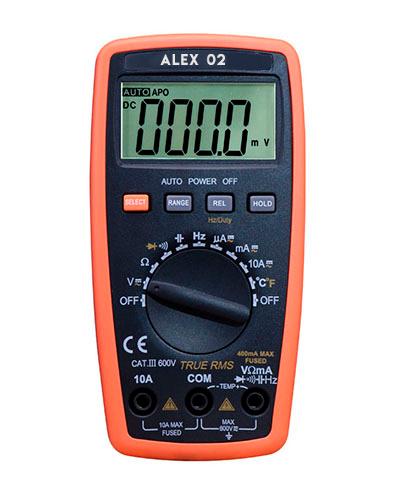 Мультиметр цифровой ALEX 02 (НОВИНКА 2018)