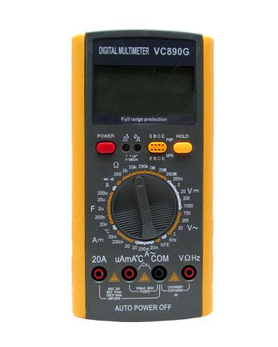 Мультиметр цифровой VC890G